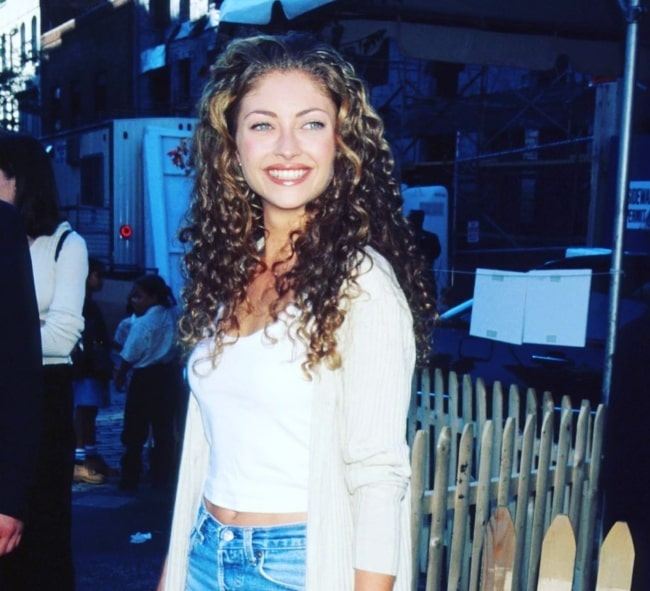 Dazzling Rebecca Gayheart in her youth