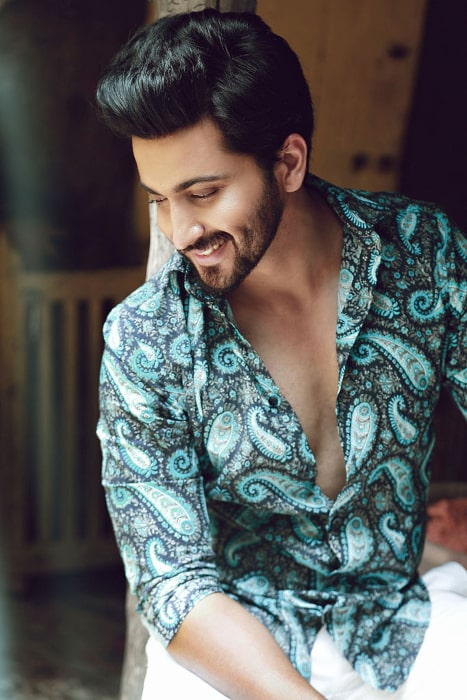 Dheeraj Dhoopar in a candid photoshoot in 2016