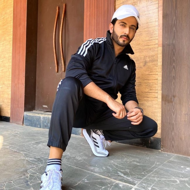 Dheeraj Dhoopar's paid collaboration with Amazon Clothing in 2020