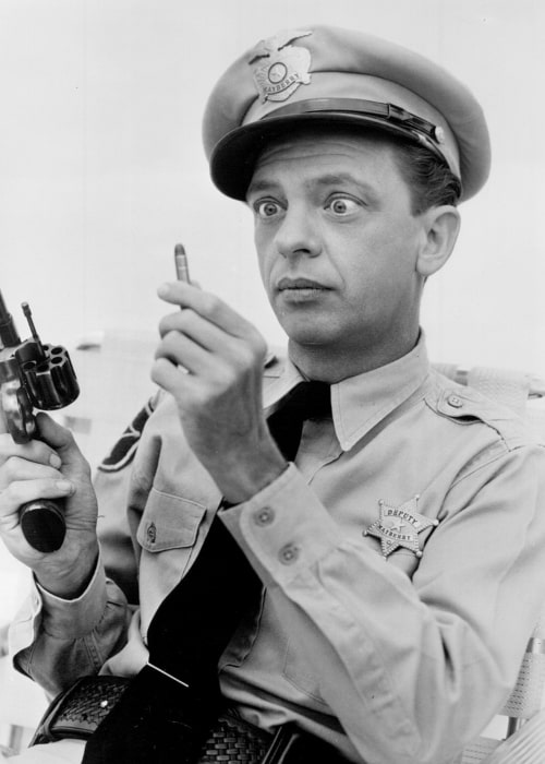 Don Knotts in a picture taken between 1960 to 1965