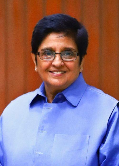 Dr. Kiran Bedi as seen in 2017