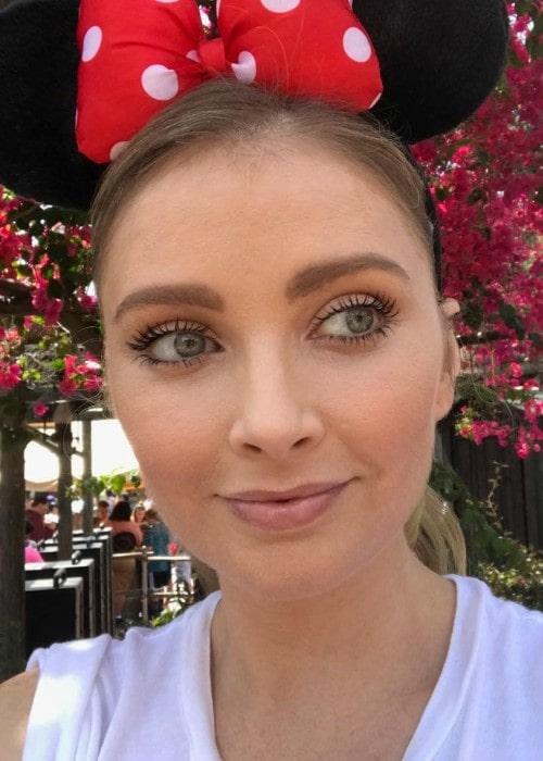 Elisabeth Harnois in an Instagram selfie as seen in June 2018
