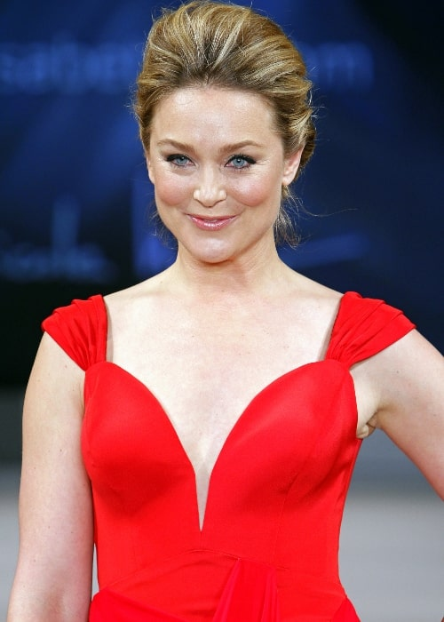 Elisabeth Röhm as seen in a picture taken at The Heart Truth's Red Dress Collection Fashion Show 2012