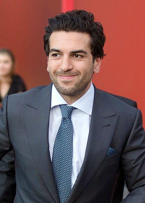 Elyas M'Barek on the red carpet of the Romy TV awards in 2016