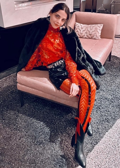 Gisselle Kuri as seen in a picture taken in Los Angeles, California in December 2019