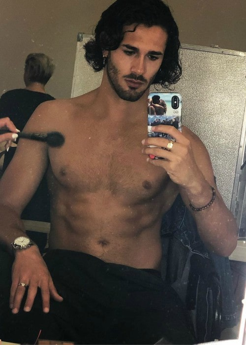 Graziano Di Prima in a selfie as seen in August 2019