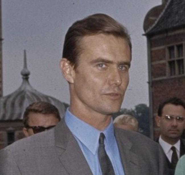 Henrik, Prince Consort of Denmark in Denmark, Copenhagen in 1966