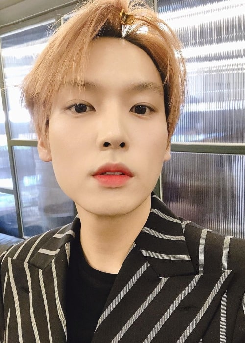 Inseong as seen while taking a selfie in March 2020