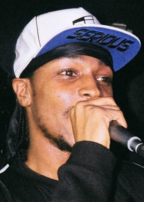 JME during a performance in August 2015