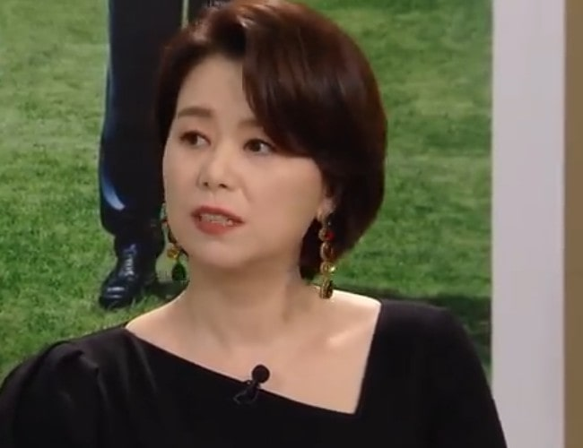 Jang Hye-jin during an interview as seen in April 2019