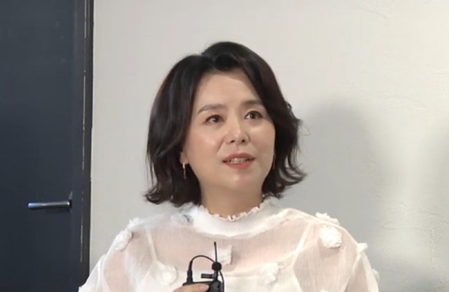 Jang Hye-jin during an interview in October 2019