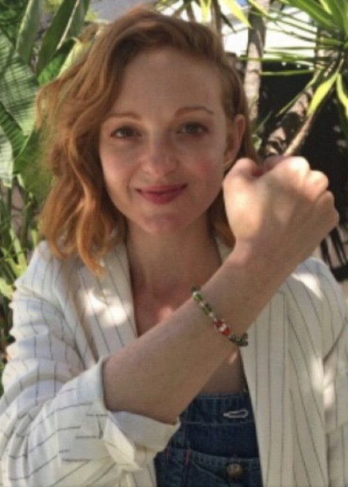 Jayma Mays as seen in an Instagram Post in April 2015
