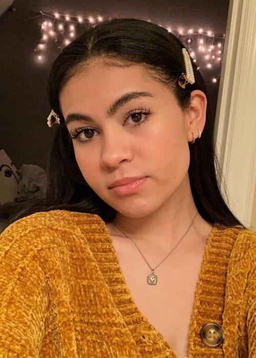 Jazzy Anne in an Instagram selfie as seen in April 2020