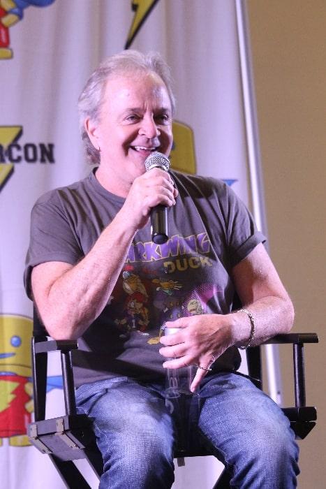 Jim Cummings speaking at Florida Supercon in July 2016