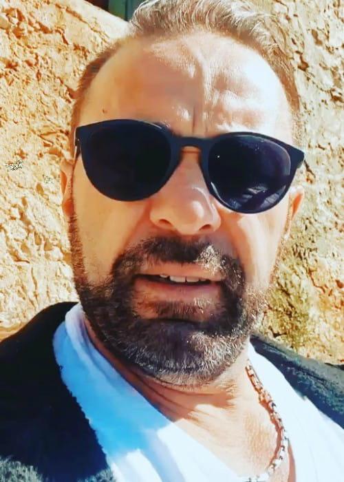 Joe Giudice in an Instagram selfie as seen in March 2020
