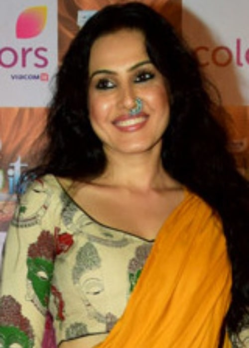 Kamya Punjabi as seen in a picture taken while she graces the Indian Television Academy Awards 2017 on November 6