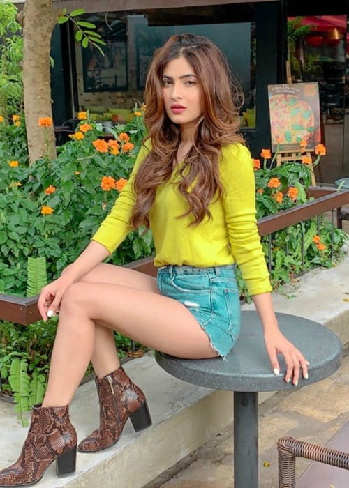 Karishma Sharma as seen in November 2019