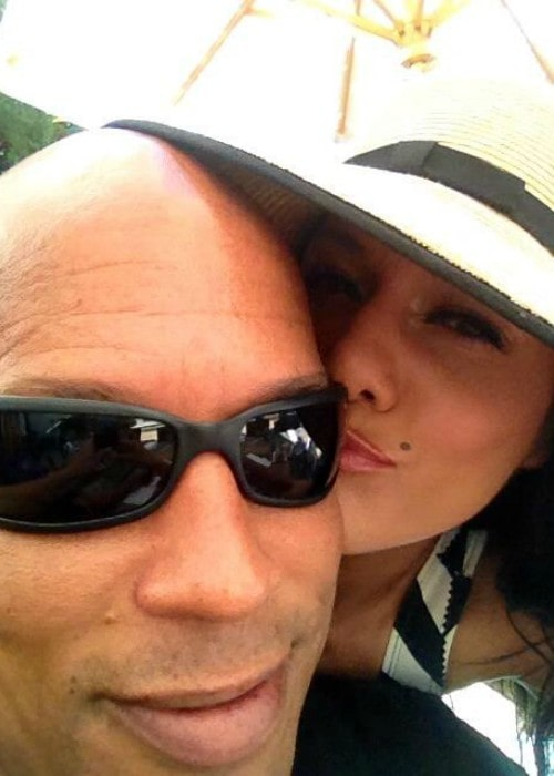 Kristie Ray and Shawn Ray in a selfie in September 2013