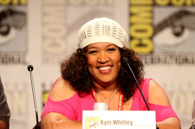 Kym Whitley at the 2011 San Diego Comic Con International in San Diego in California
