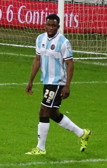 Larnell Cole during a match as seen in January 2016