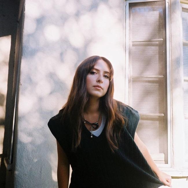 Lila Drew as seen in a picture taken in April 2020