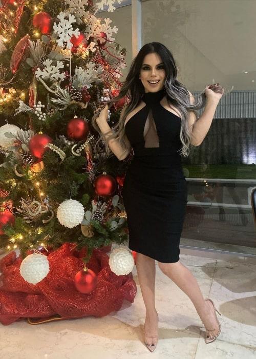 Lizbeth Rodríguez as seen in a picture taken in December 2019