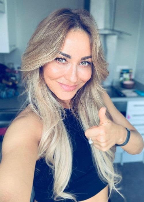Luba Mushtuk in a selfie in April 2020