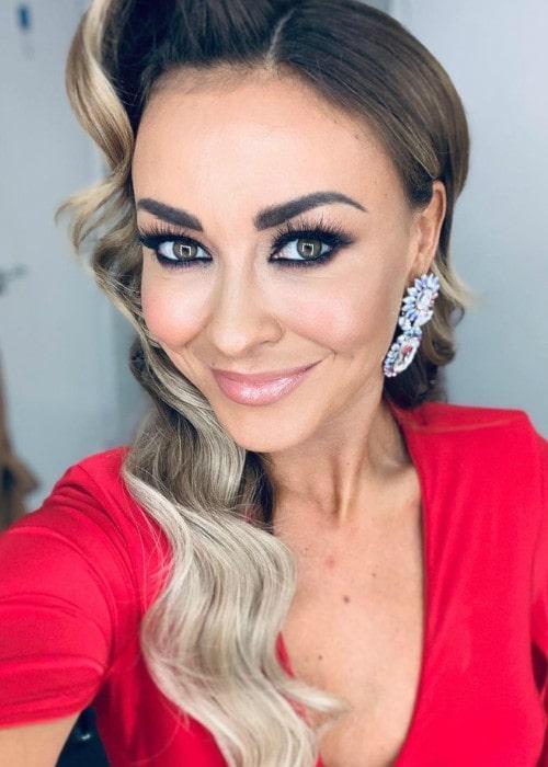 Luba Mushtuk in an Instagram selfie as seen in October 2019
