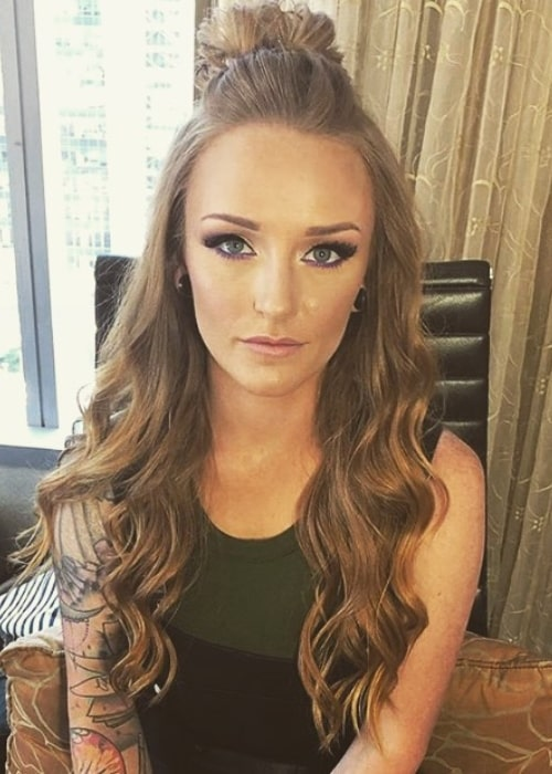Maci Bookout as seen in a picture taken in New York City, New York in May 2019