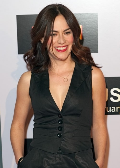 Maggie Siff as seen in a picture taken at the premiere of Push, Mann Theater, Westwood on January 29, 2009
