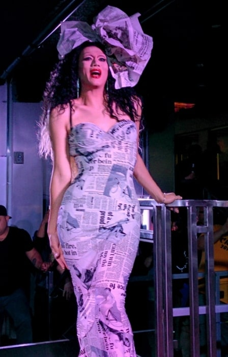 Manila Luzon as seen while performing at the Cafe in San Francisco, California, United States in May 2014