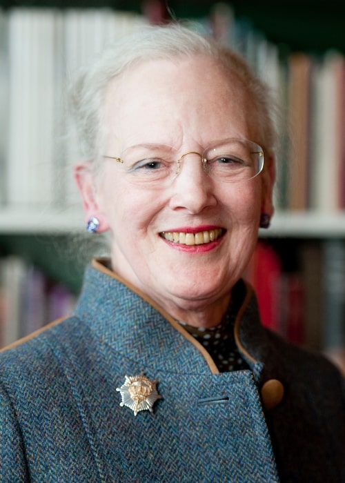 Margrethe II of Denmark in a picture taken in May 2012