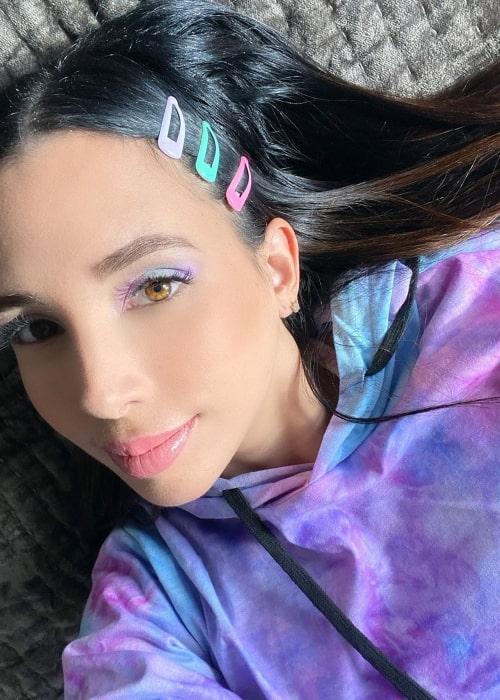 Marialejandra Marrero as seen in a selfie taken in February 2020