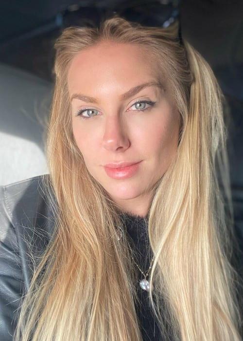 Marthina Brandt in an Instagram selfie as seen in March 2020