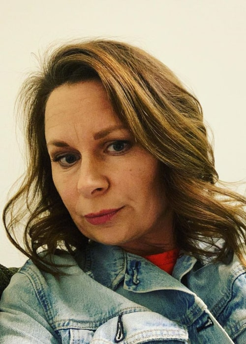 Mary Lynn Rajskub in an Instagram selfie from February 2020
