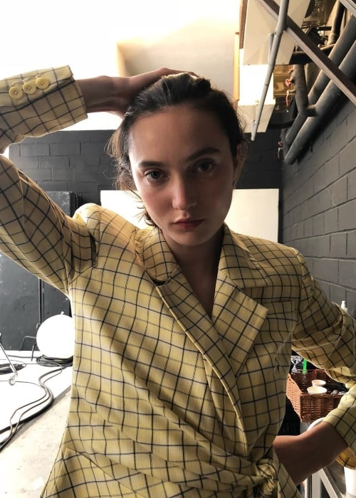 Matilda Lowther as seen in a picture taken in December 2018