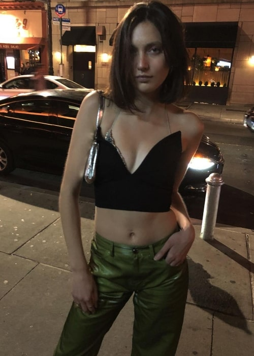 Matilda Lowther as seen in a picture taken in New York City, New York in September 2018