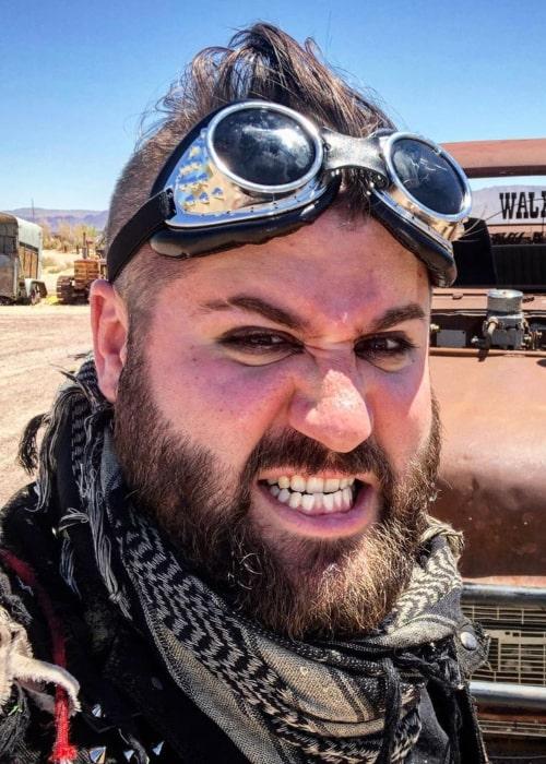 Matt Raub as seen in an Instagram Post in March 2020