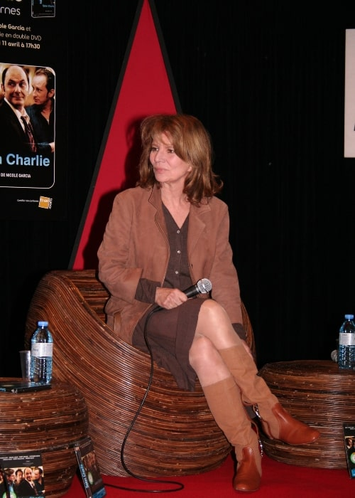Meet-up with the film-maker Nicole Garcia and Jean-Pierre Bacri, for the release of the film Selon Charlie on April 11, 2007
