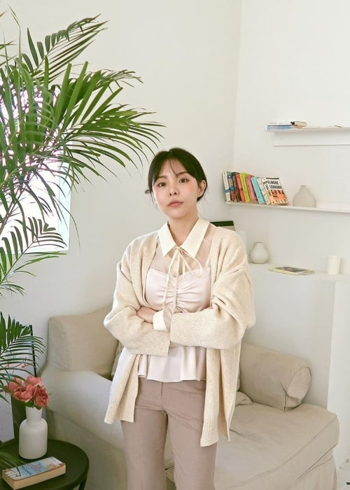 Mejiwoo as seen in a picture taken in April 2020