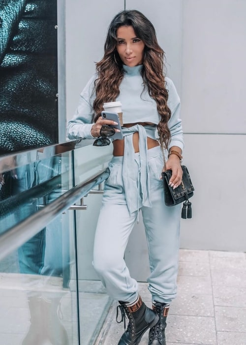 Metisha Schaefer as seen in a picture taken in Miami, Florida that was uploaded to her Instagram profile in October 2019