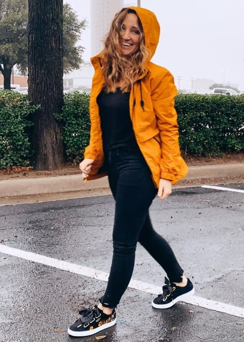 Mindy McKnight as seen in a picture taken in front of Walmart in Dallas, Texas in January 2020