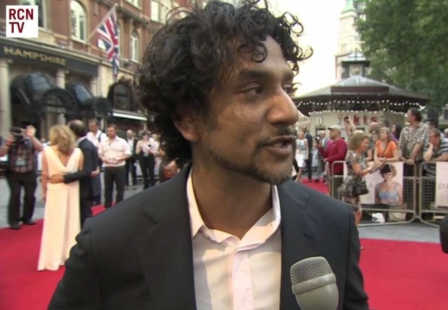 Naveen Andrews during an interview as seen in September 2013