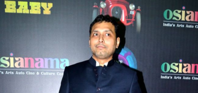 Neeraj Pandey at the premiere of his film Baby in 2015