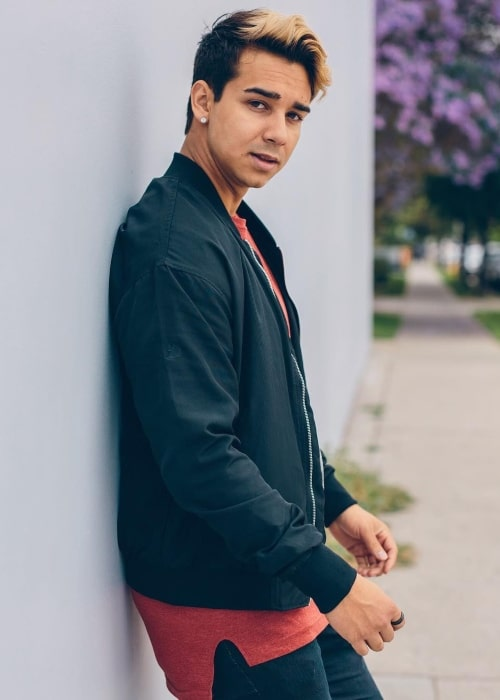Nick Pallauf as seen in a picture taken in Los Angeles, California in September 2018