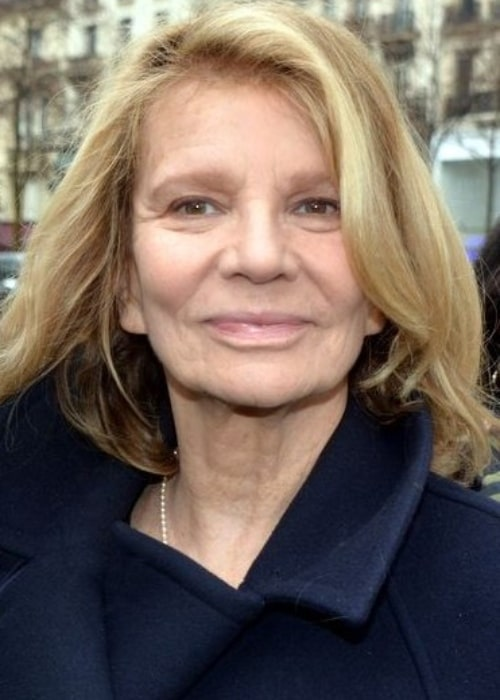 Nicole Garcia at the 2017 César Award on February 4