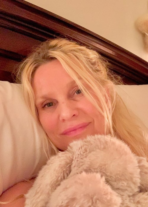 Nicollette Sheridan as seen in an Instagram Post in April 2020