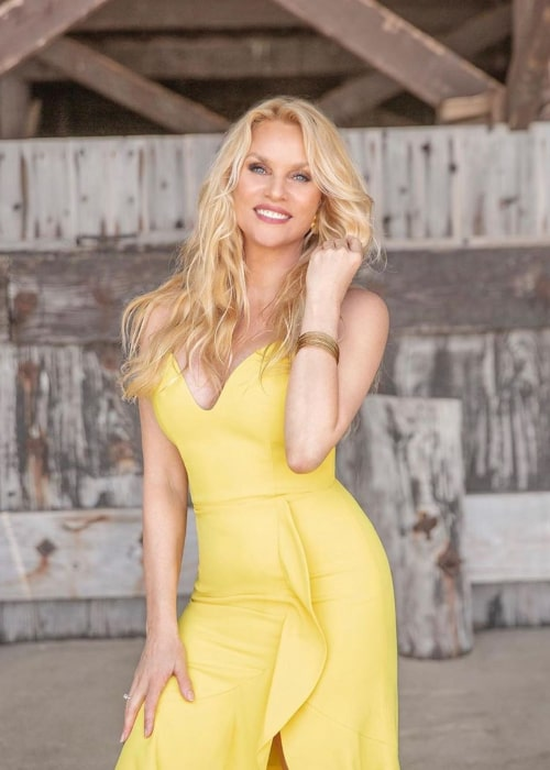 Nicollette Sheridan as seen in an Instagram Post in August 2019