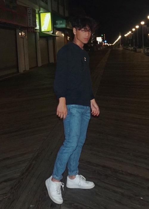 Noel Gajo as seen in Ocean City, Maryland in August 2019
