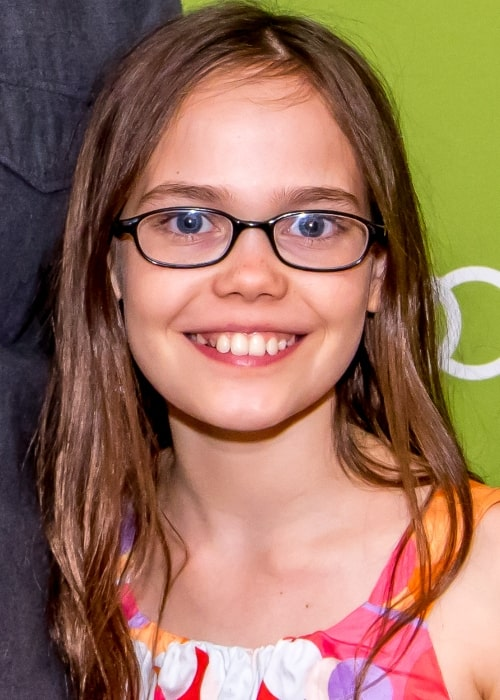 Oona Laurence as seen in a picture taken in Montclair Film Festival on May 9, 2015